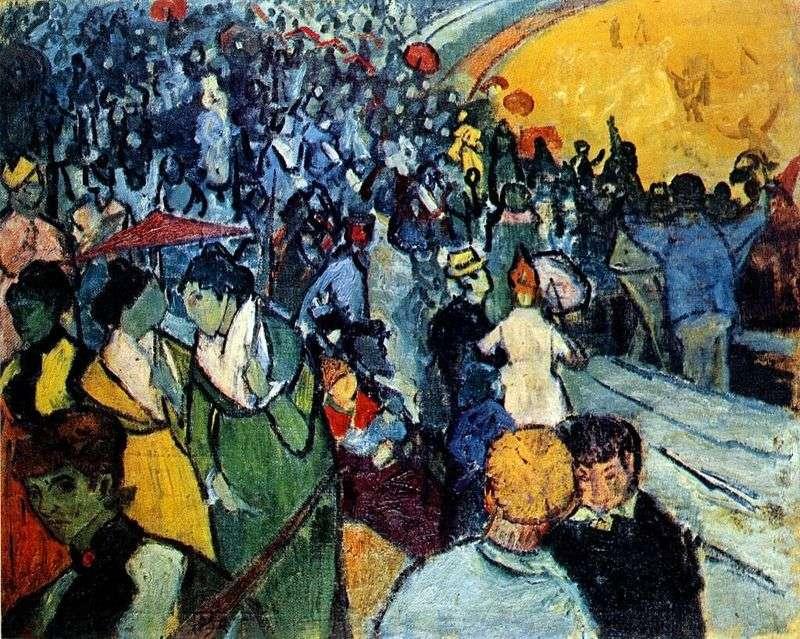 Widzowie na arenie Arles   Vincent Van Gogh