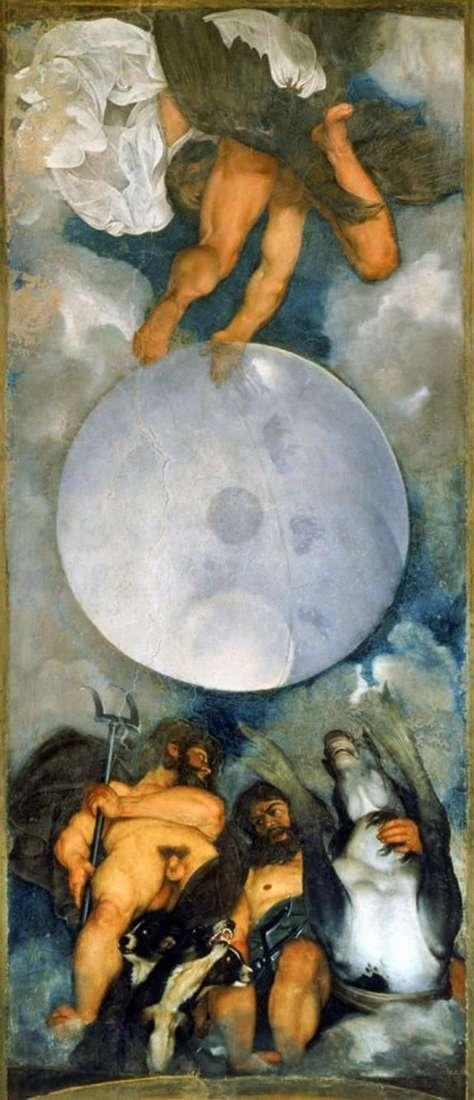Jowisz, Neptun i Pluton   Michelangelo Merisi da Caravaggio