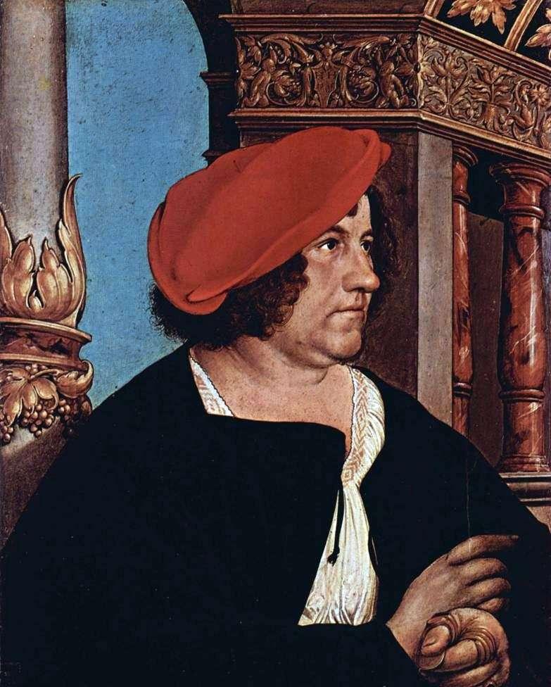 Portret Jacoba Mayera   Hansa Holbeina