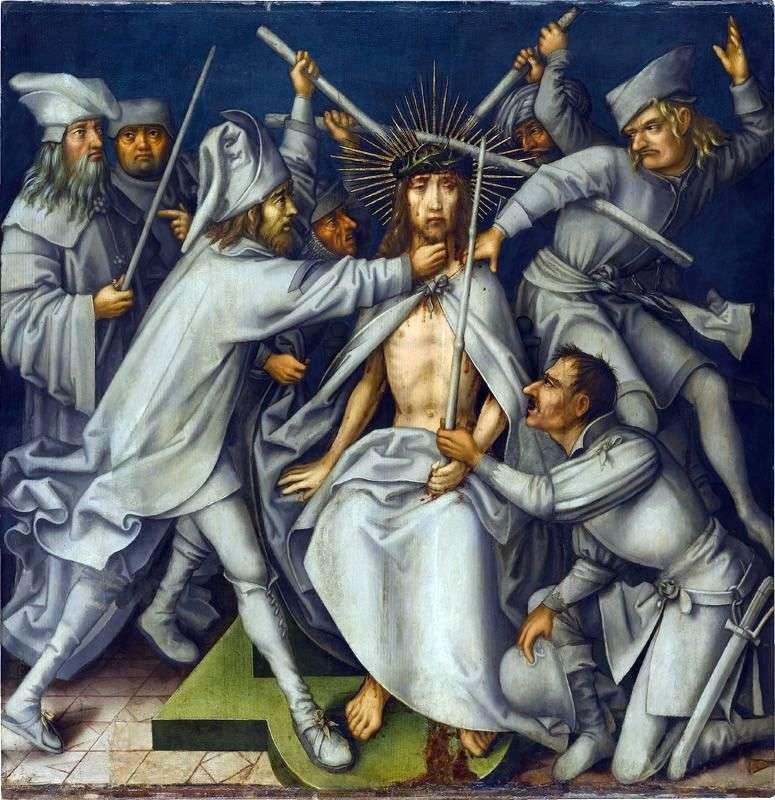 Wyrzuty Chrystusa   Hans Holbein