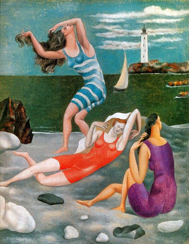 Kąpiący się   Pablo Picasso