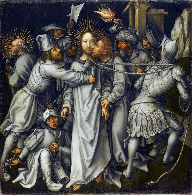 Judas Kiss   Hans Holbein
