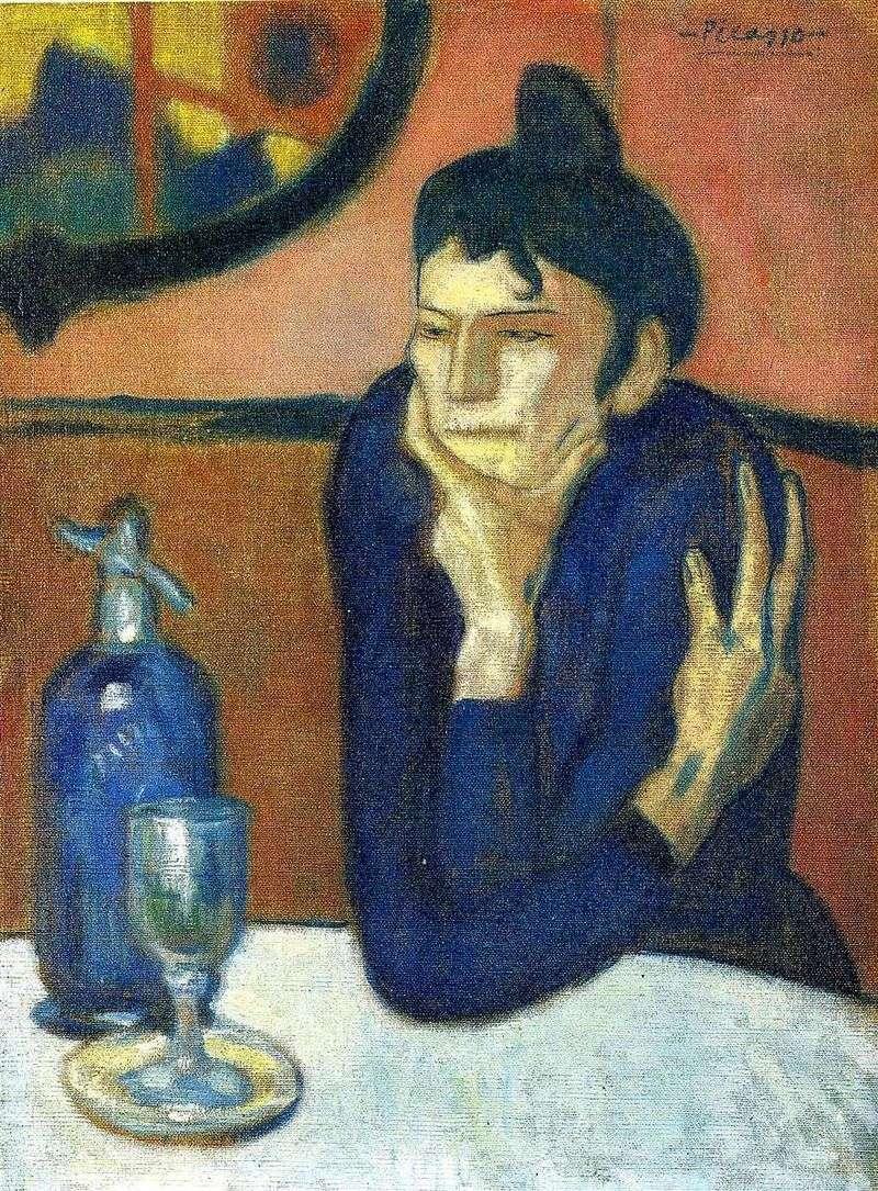 Absynt kochanek   Pablo Picasso