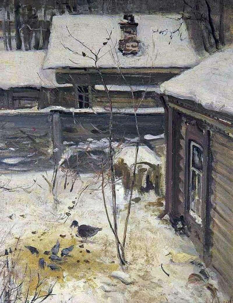 Yard Zima   Aleksiej Sawrasow