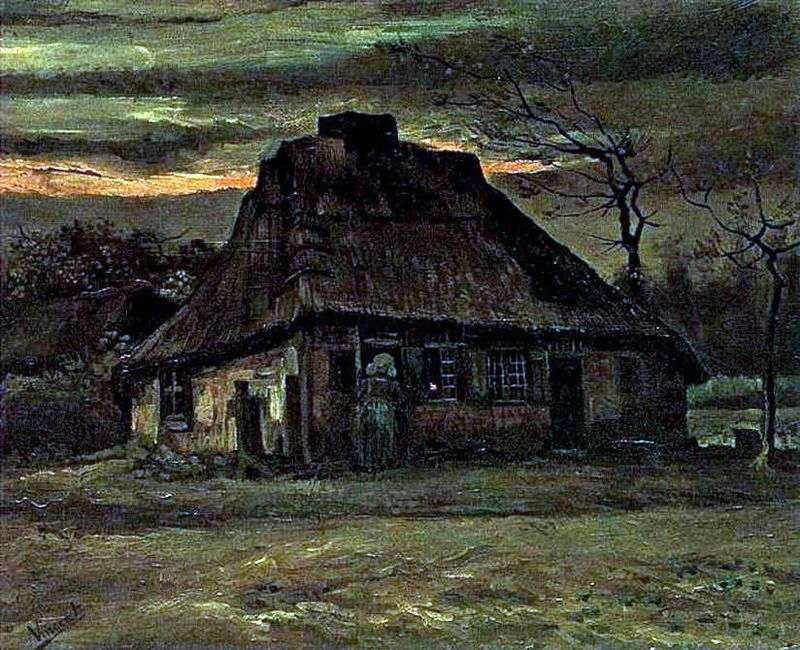 Hut   Vincent Van Gogh