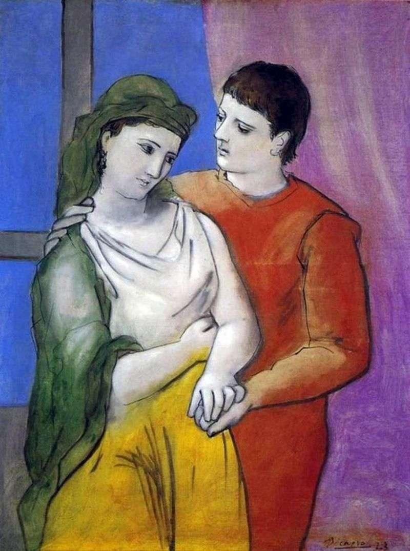 Miłośnicy   Pablo Picasso