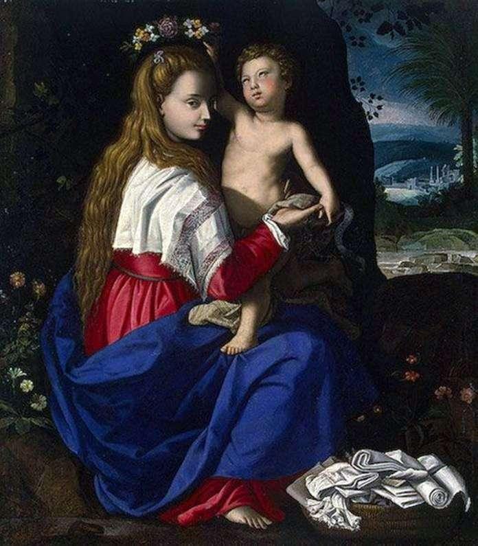 Madonna z Dzieciątkiem   Alessandro Allori
