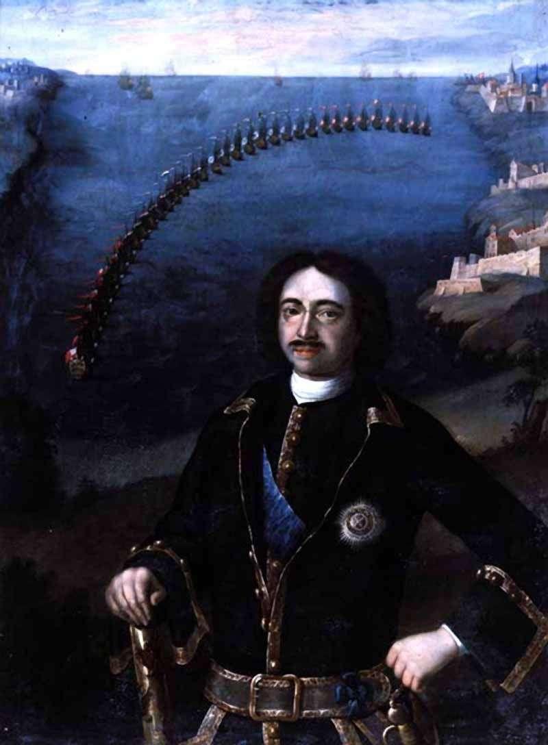 Portret Piotra I   Louis Caravaque