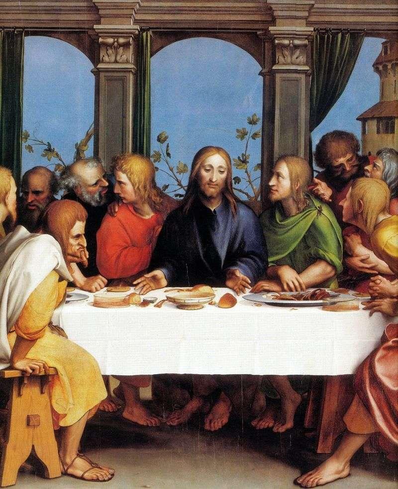 Ostatnia Wieczerza   Hans Holbein