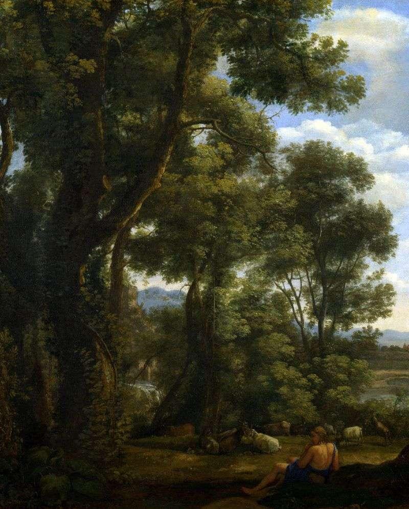 Krajobraz z koźląt i kóz   Claude Lorrain