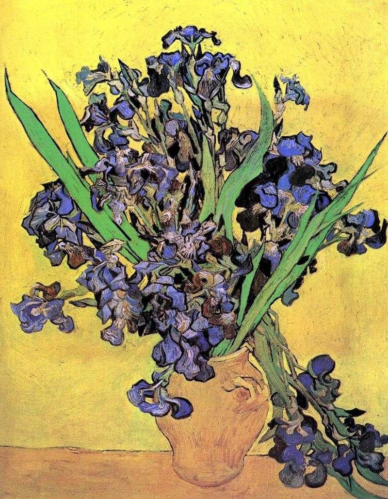 Irysy   Vincent Van Gogh