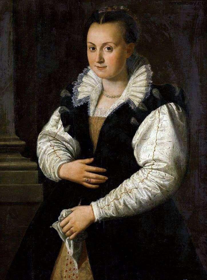 Portret damy   Alessandro Allori