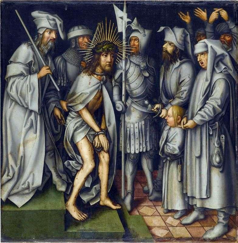 Chrystus przed Kajfaszem   Hans Holbein