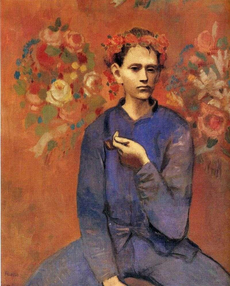 Chłopiec z fajką   Pablo Picasso