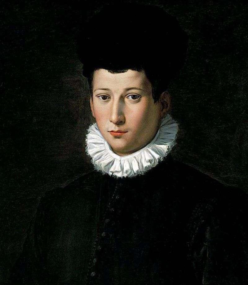Portret młodego mężczyzny   Alessandro Allori