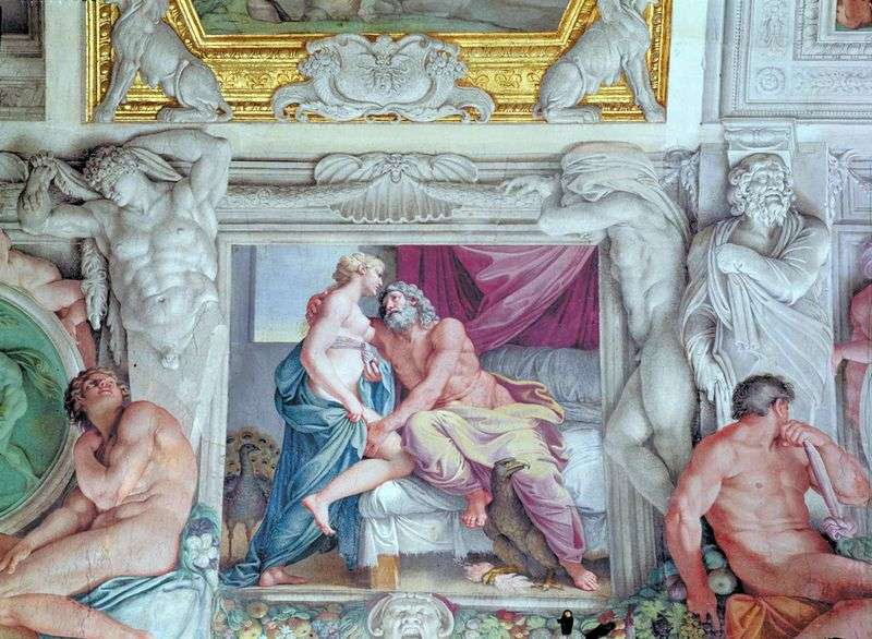 Jowisz i Juno   Annibale Carracci
