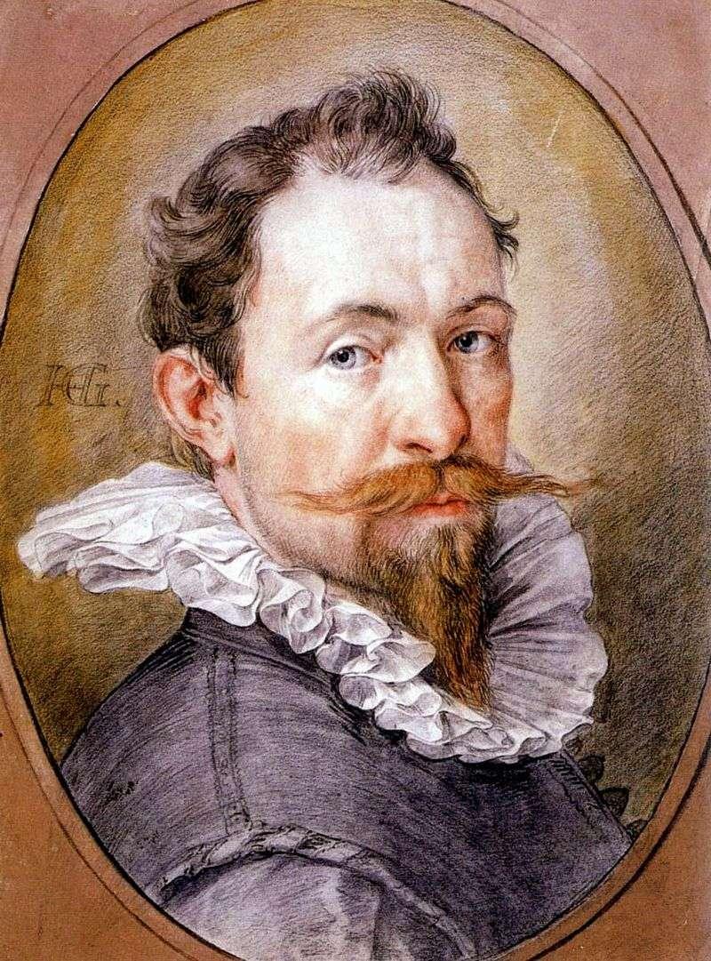 Autoportret   Hendrick Goltzius