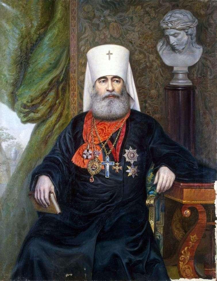 Portret metropolity Antoniego   A. A. Karelin
