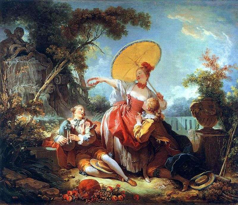Musical Bet   Jean Honore Fragonard