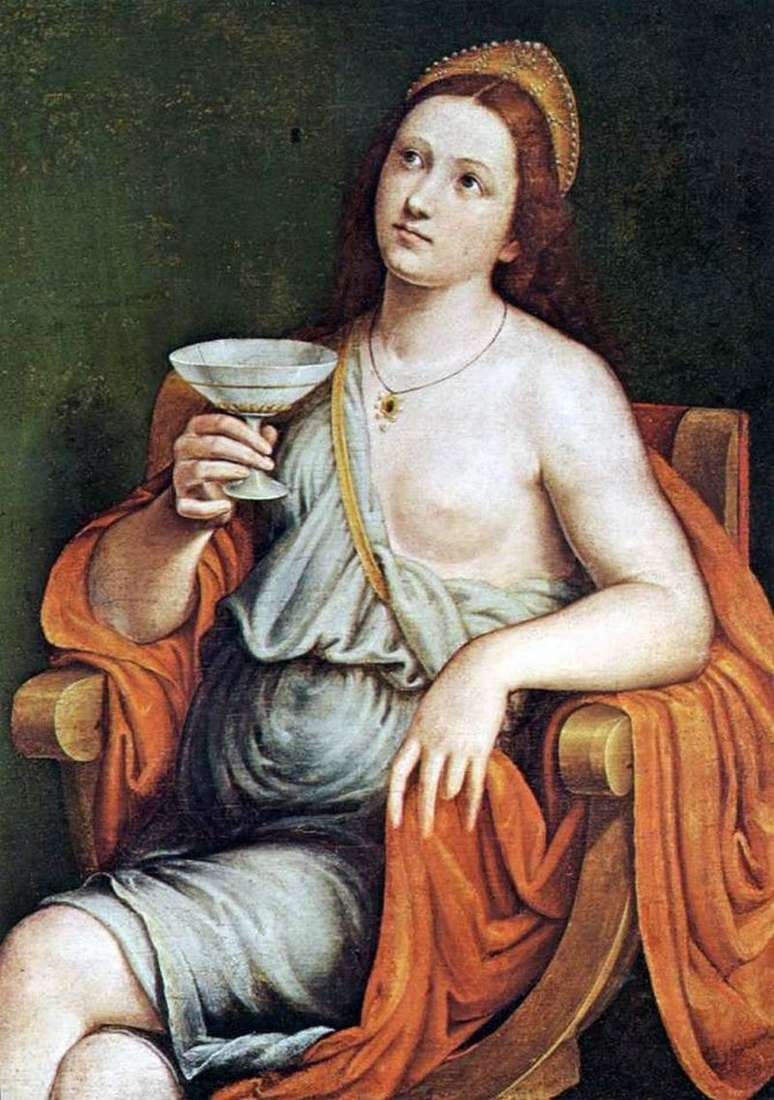 Trucizna Sofonisba   Giovanni Francesco Caroto