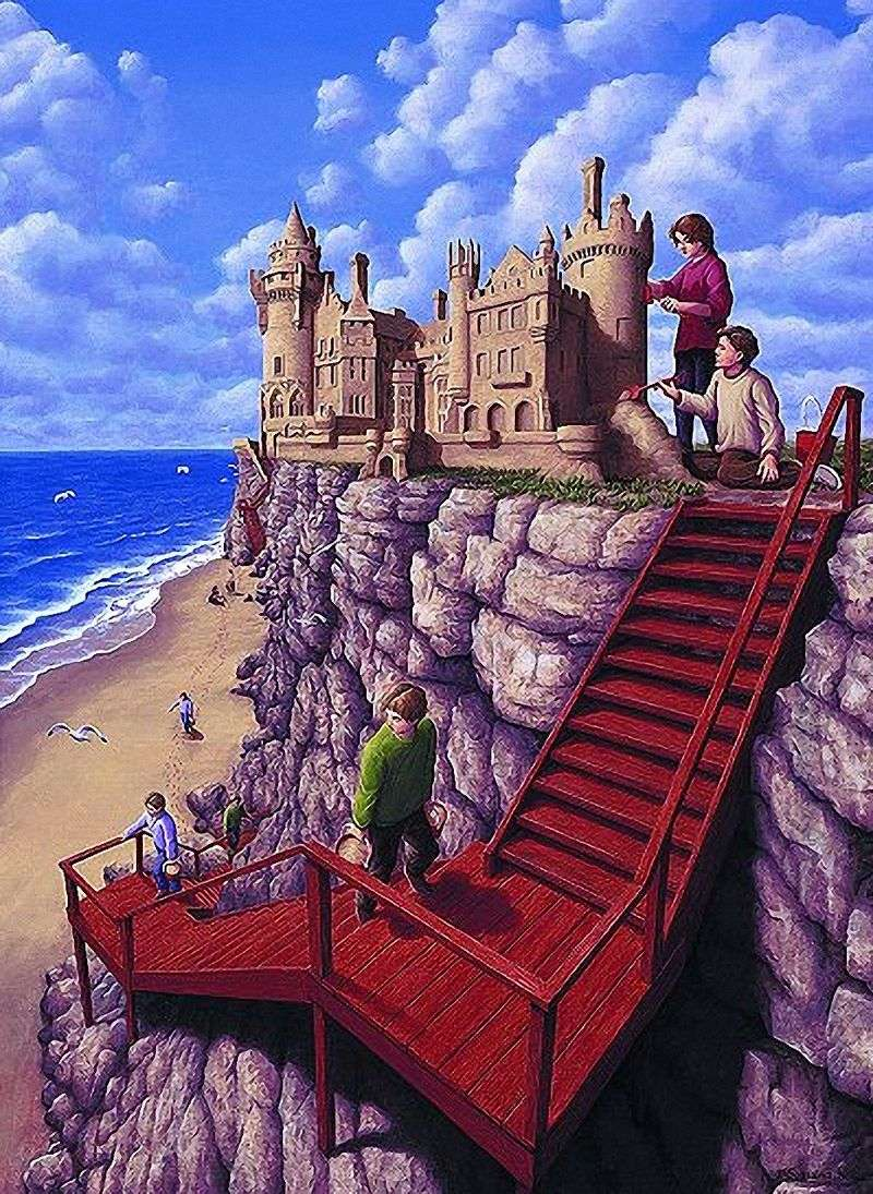 Zamek na klifie   Rob Gonsalves