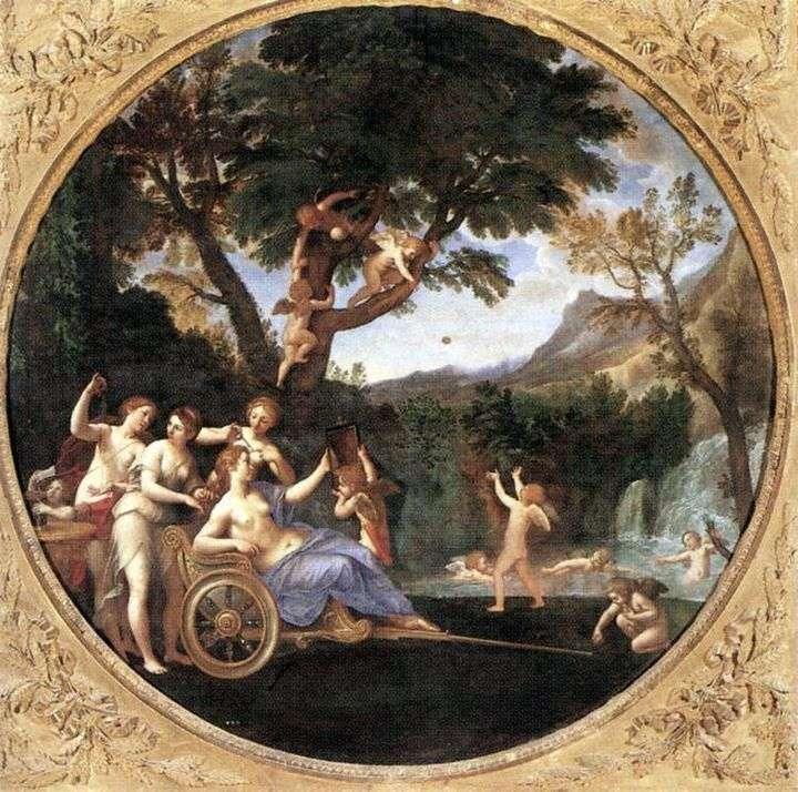 Wiosna (Toaleta Wenus)   Francesco Albani