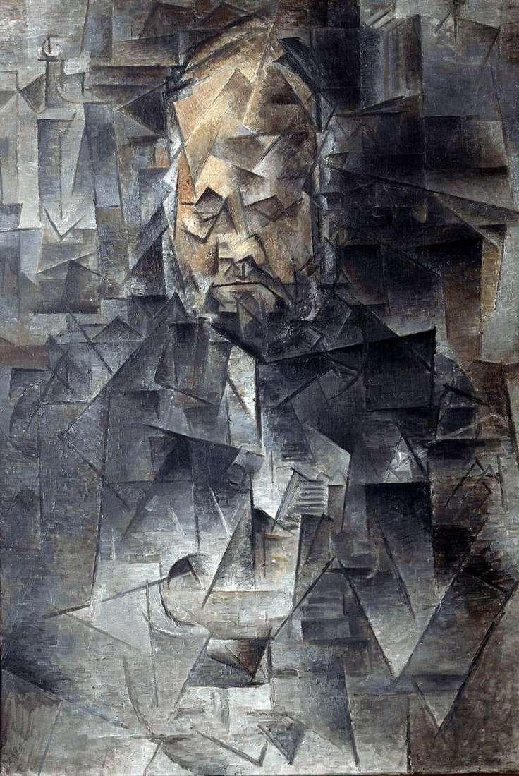 Portret Ambroise Vollard   Pablo Picasso