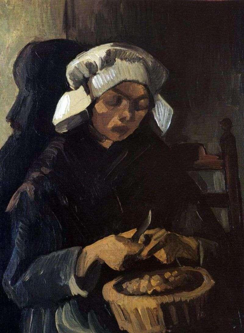 Chłopskie ziemniaki oczyszczające   Vincent Van Gogh