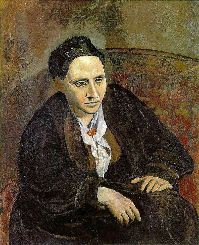 Portret Gertrude Stein   Pablo Picasso
