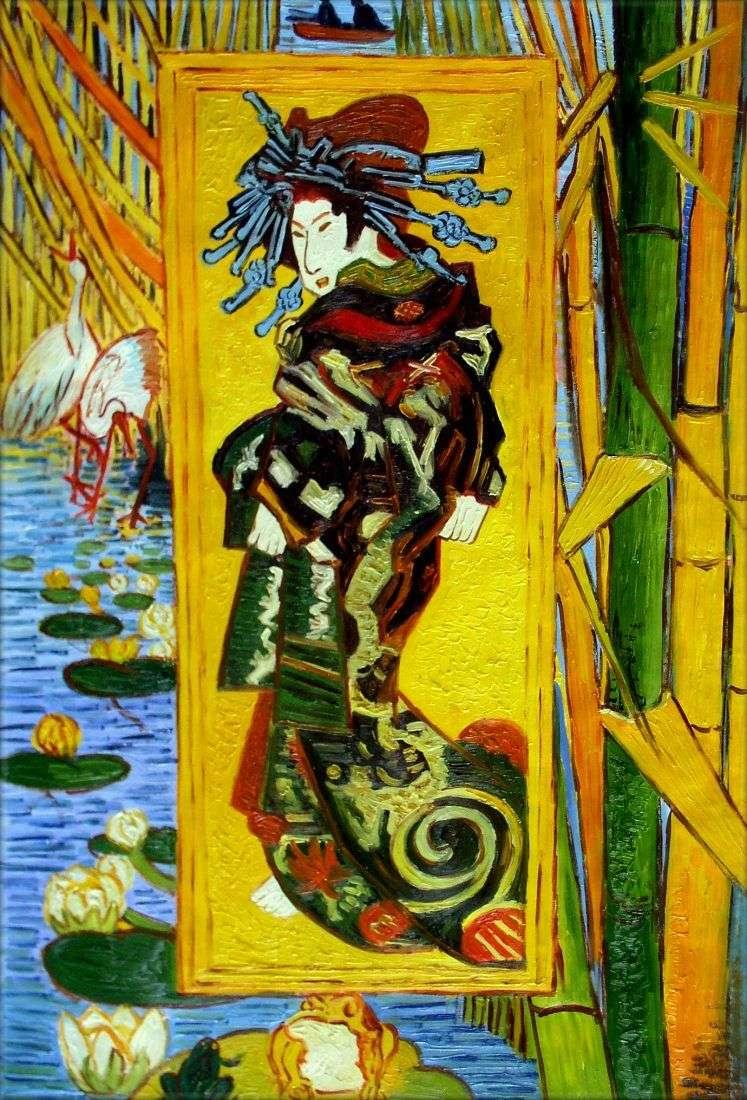 Kurtyzana   Vincent Van Gogh