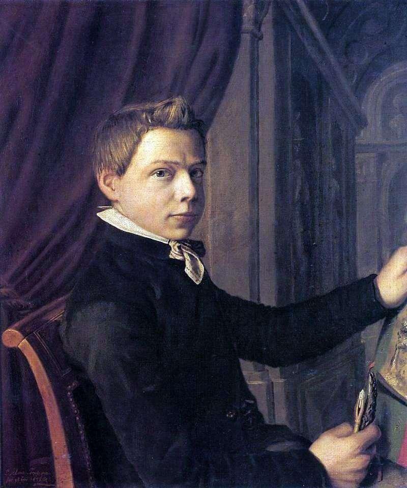 Autoportret w młodości   Lawrence Alma Tadema