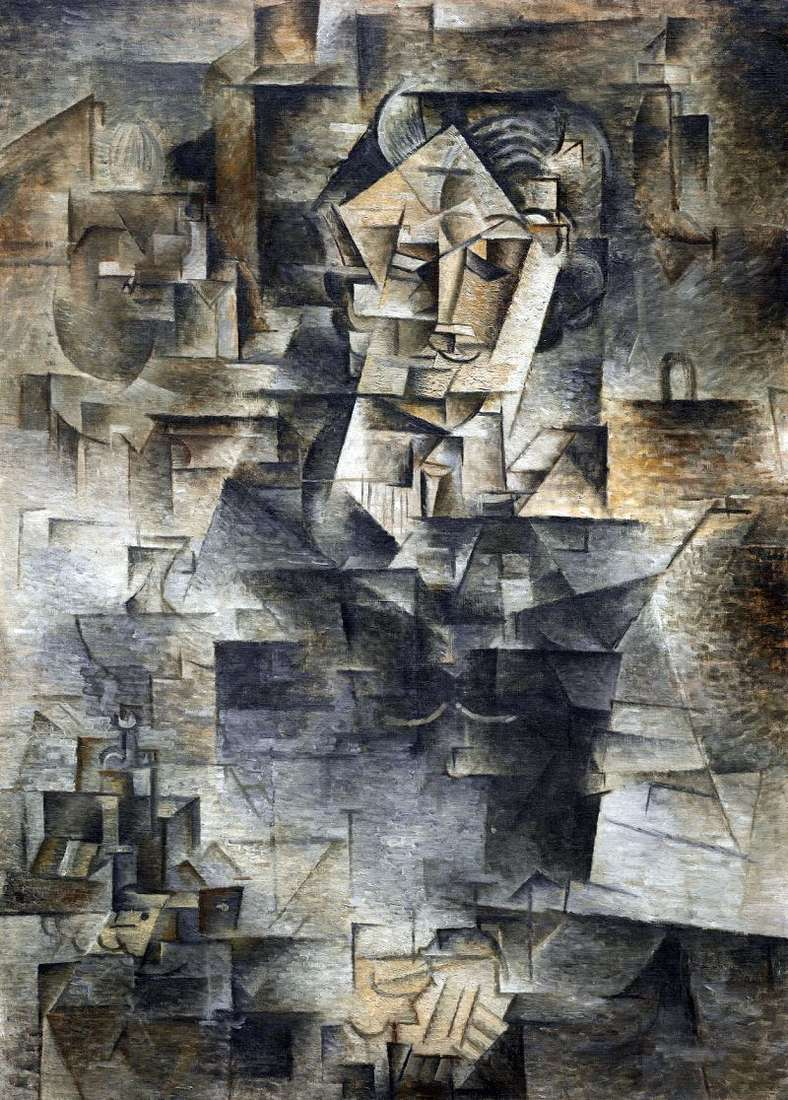 Portret Daniela Henri Kaneveylera   Pablo Picasso