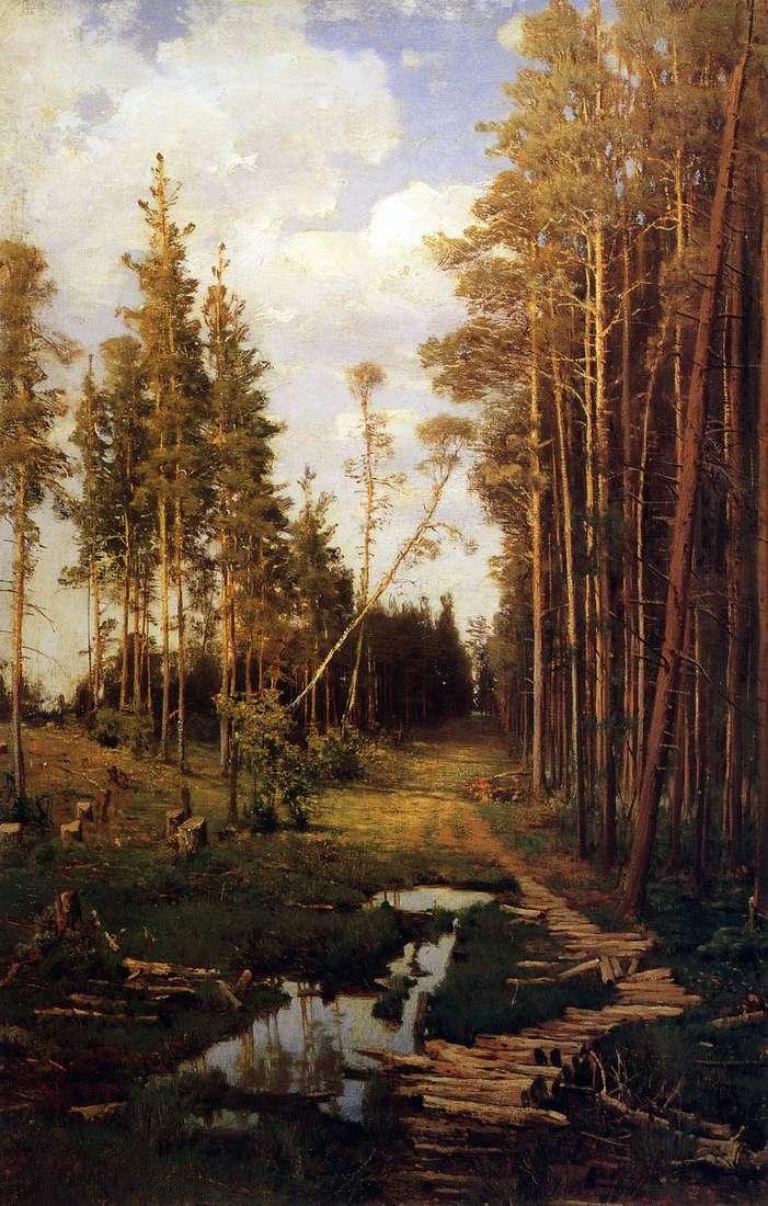 Polana w sosnowym lesie   Alexey Savrasov