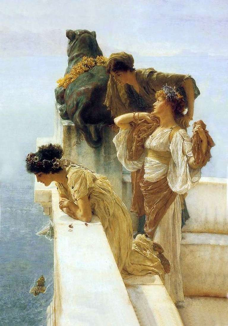 Vantage Point   Lawrence Alma Tadema