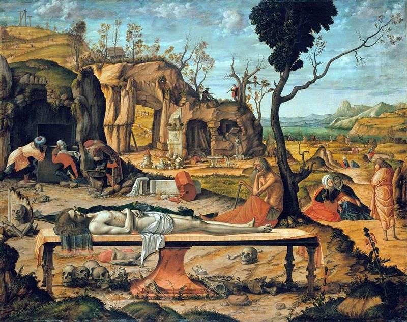 Martwy Chrystus   Vittore Carpaccio