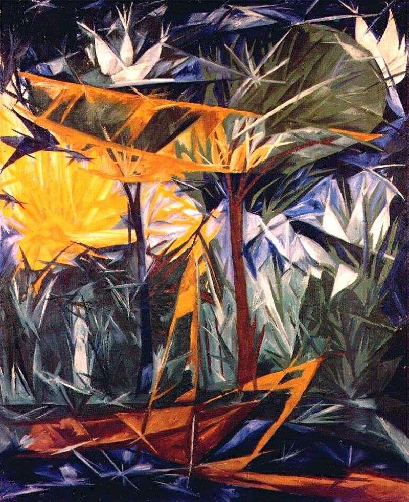 Żółty i zielony las   Natalia Gonczarowa