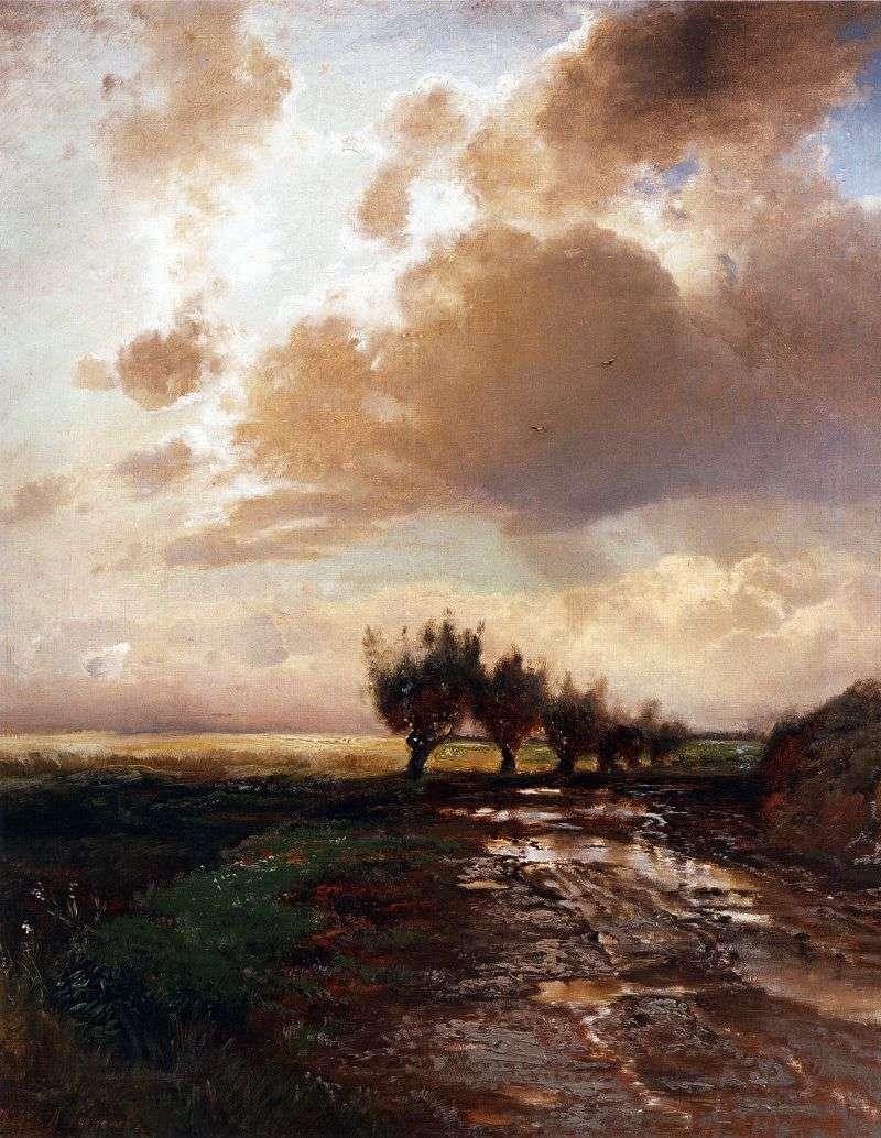 Wiejska droga   Aleksiej Sawrasow