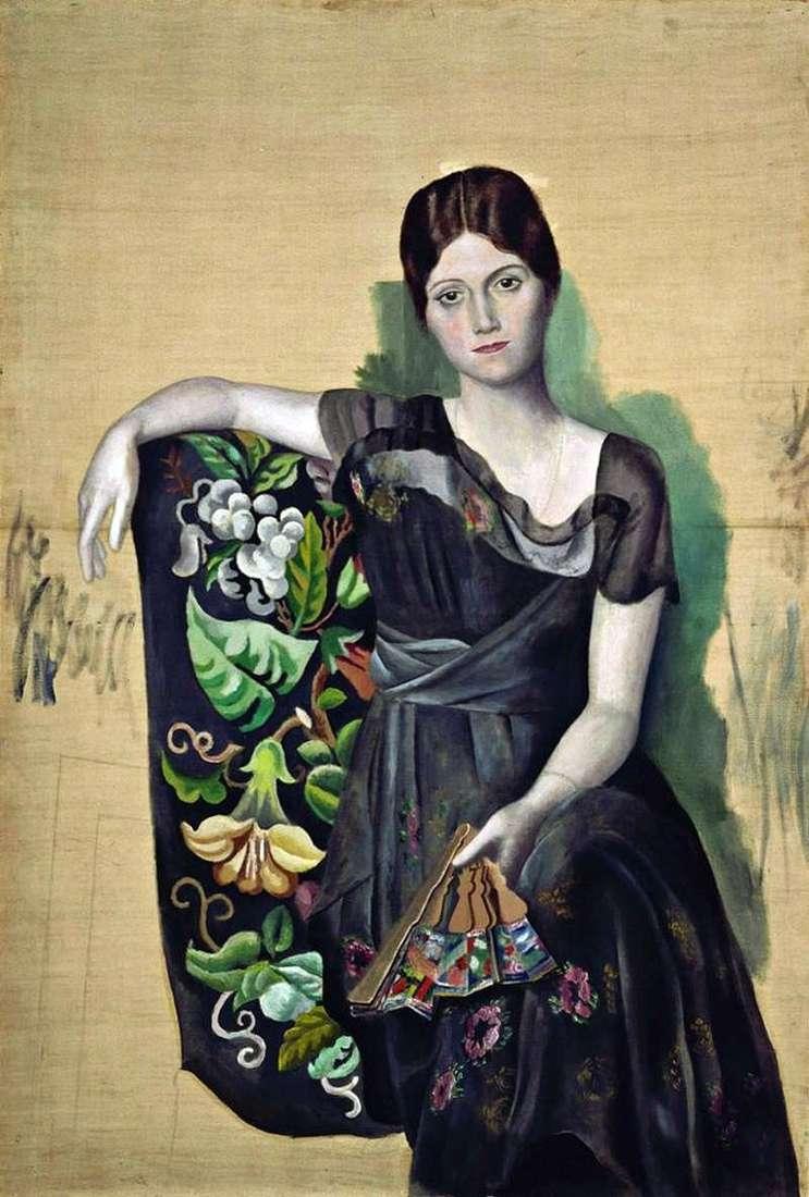 Portret Olgi w fotelu   Pablo Picasso