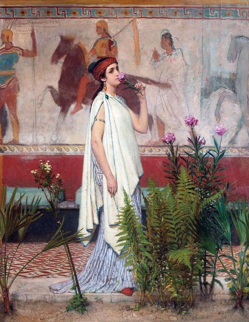 Greczynka   Lawrence Alma Tadema