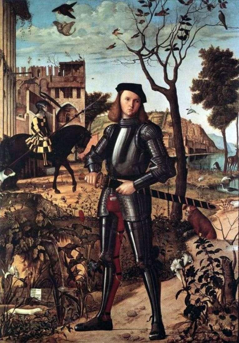 Młody rycerz   Vittore Carpaccio