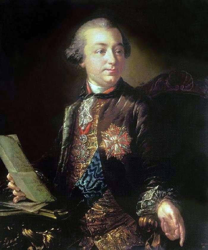 Portret I. I. Szuwałowa   Anton Losenko