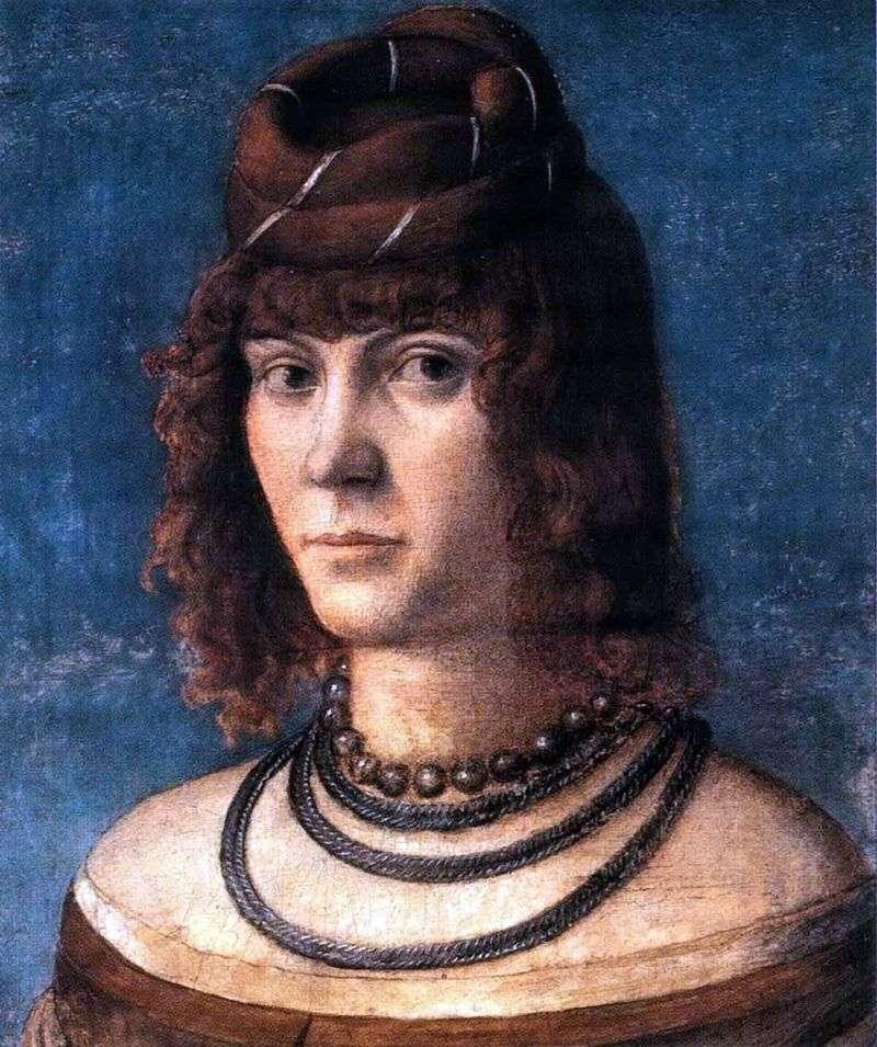 Portret kurtyzany   Vittorio Carpaccio