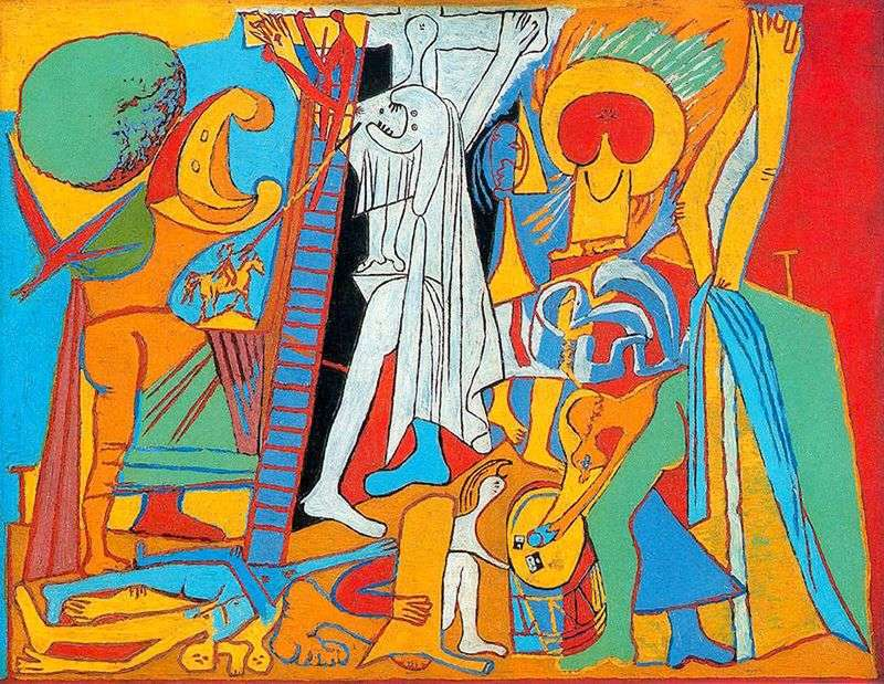 Ukrzyżowanie   Pablo Picasso