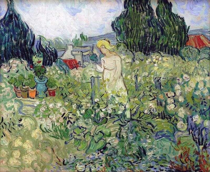 Margarita Gachet w ogrodzie   Vincent Van Gogh