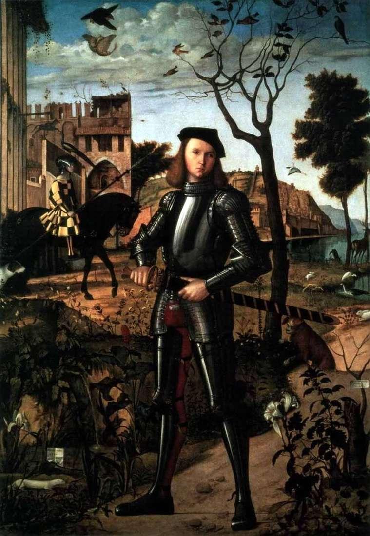 Portret rycerza   Vittorio Carpaccio