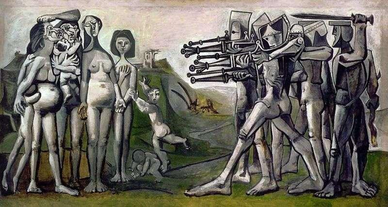 Masakra w Korei   Pablo Picasso