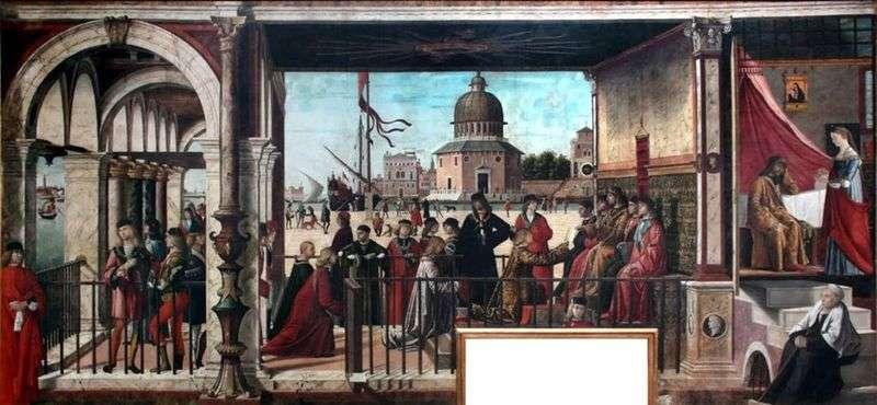 Przyjazd brytyjskich ambasadorów   Vittore Carpaccio
