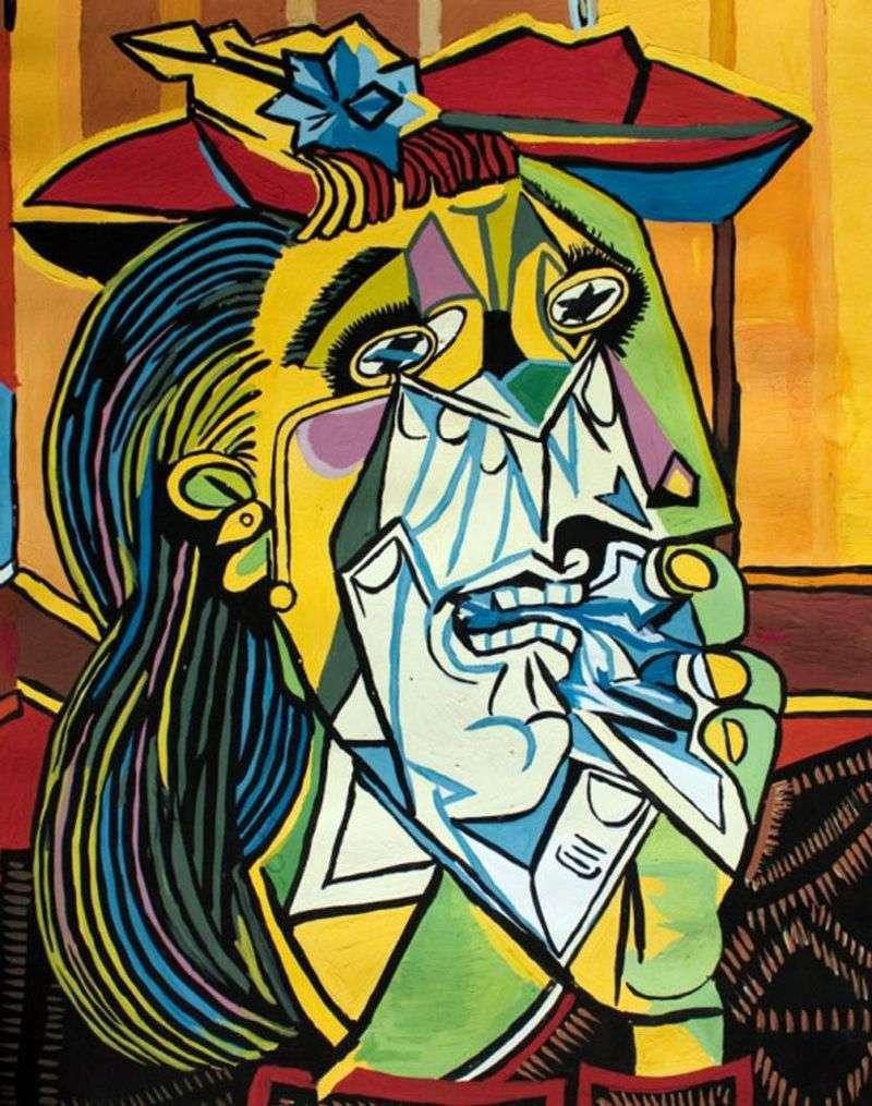 Płacząca kobieta   Pablo Picasso