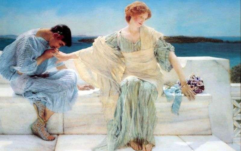 Nie pytaj mnie już więcej   Lawrence Alma Tadema
