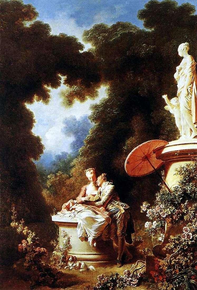 Więzy miłości   Jean Honore Fragonard